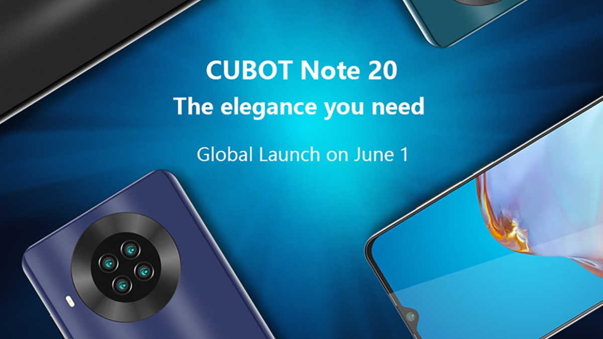 Další Cubot se čtyřmi foťáky se odhaluje a startuje s giveaway – Cubot NOTE 20 [sponzorovaný článek]