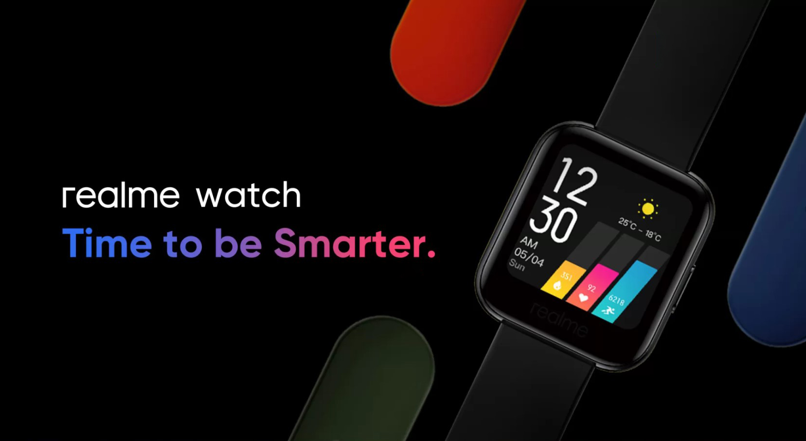 Chytré hodinky Realme Watch přichází na český trh [aktualizováno]