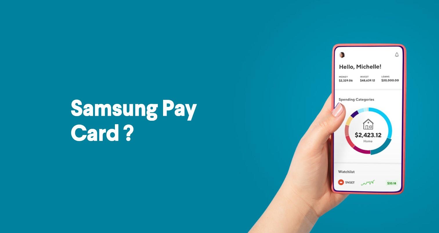 I Samsung nabídne vlastní debetní platební kartu