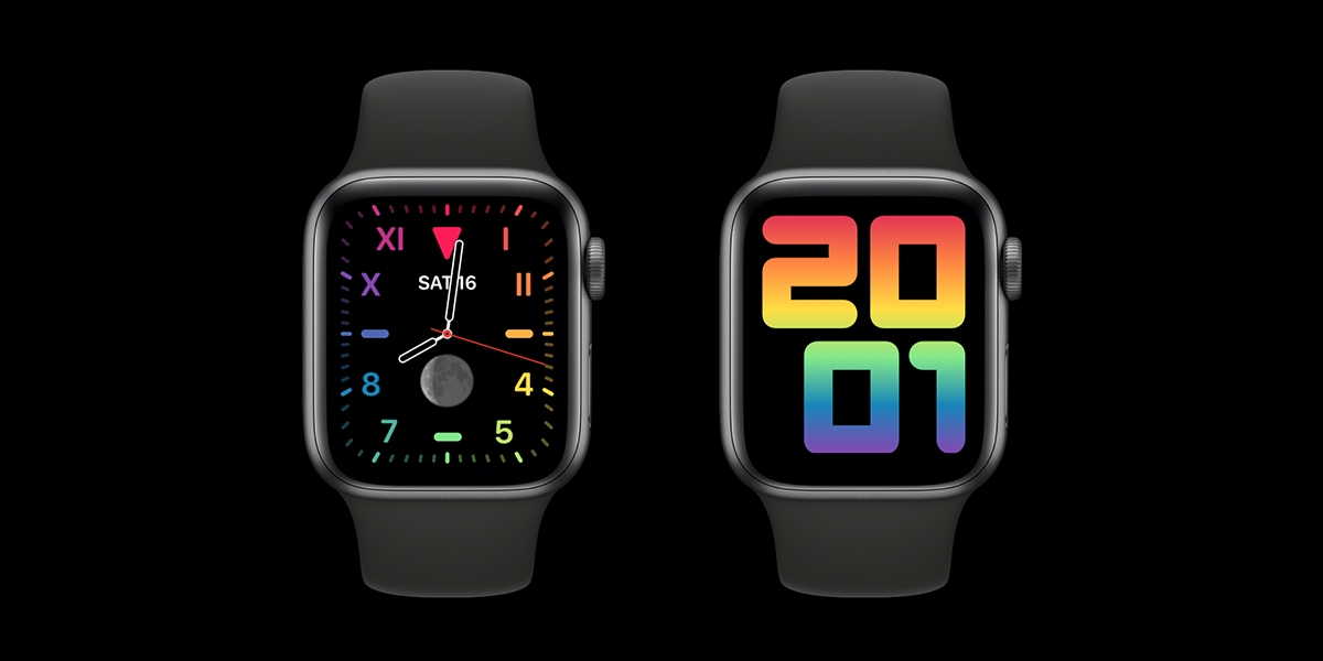 watchOS 6.2.5 přináší nové Pride ciferníky