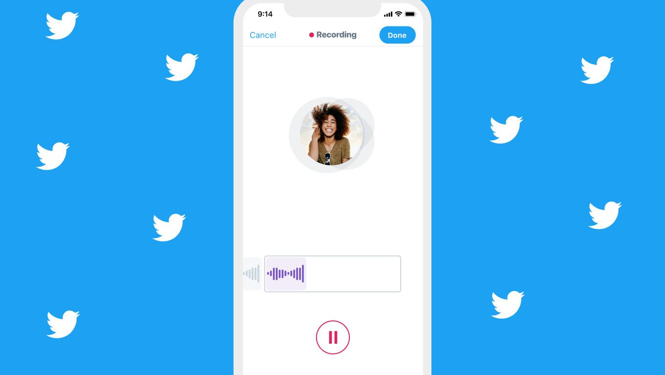 Twitter se zaměří více na audio tweety