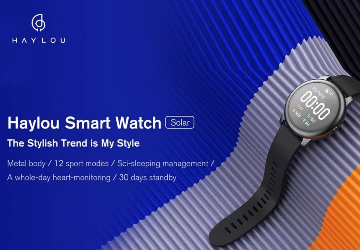 Haylou Solar LS05 solární hodinky pro každého [sponzorovaný článek]