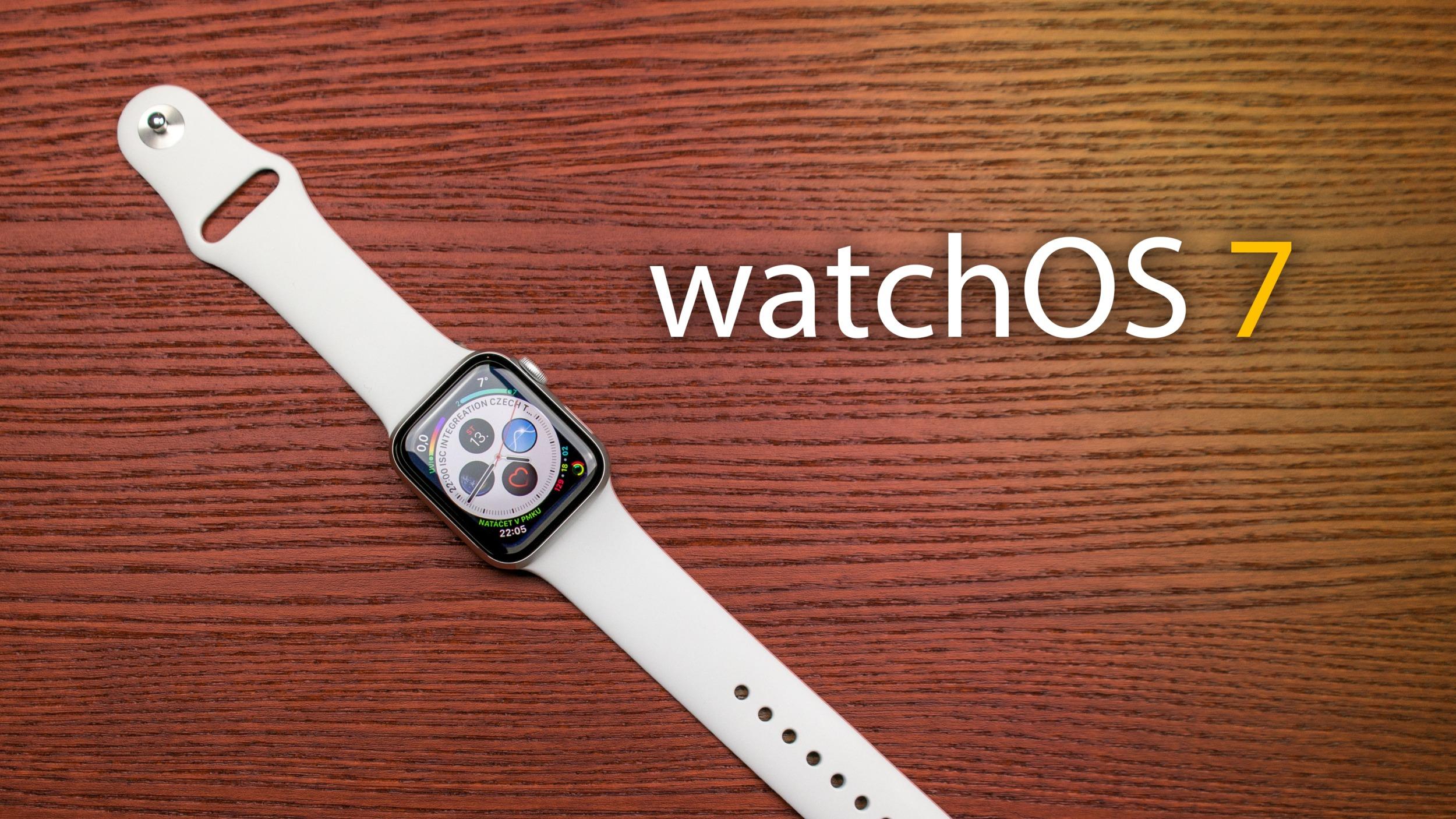 watchOS 7 beta 7 míří k vývojářům