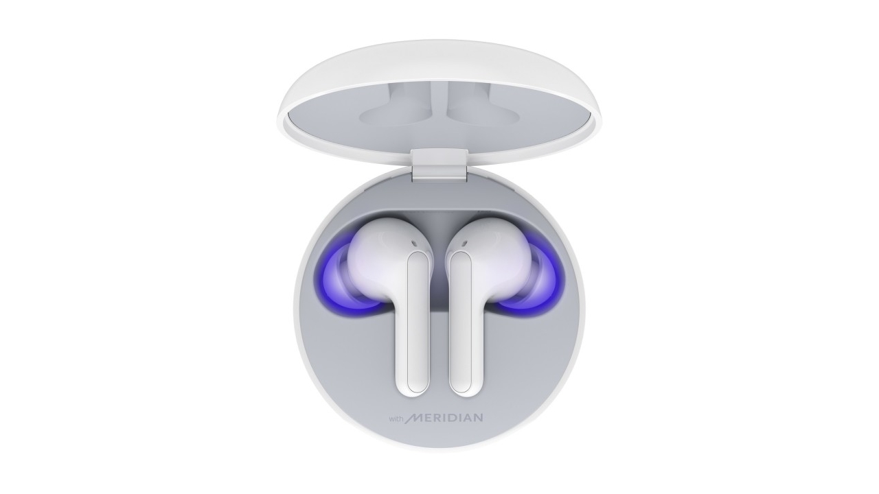 LG představilo nová sluchátka s UV čištěním