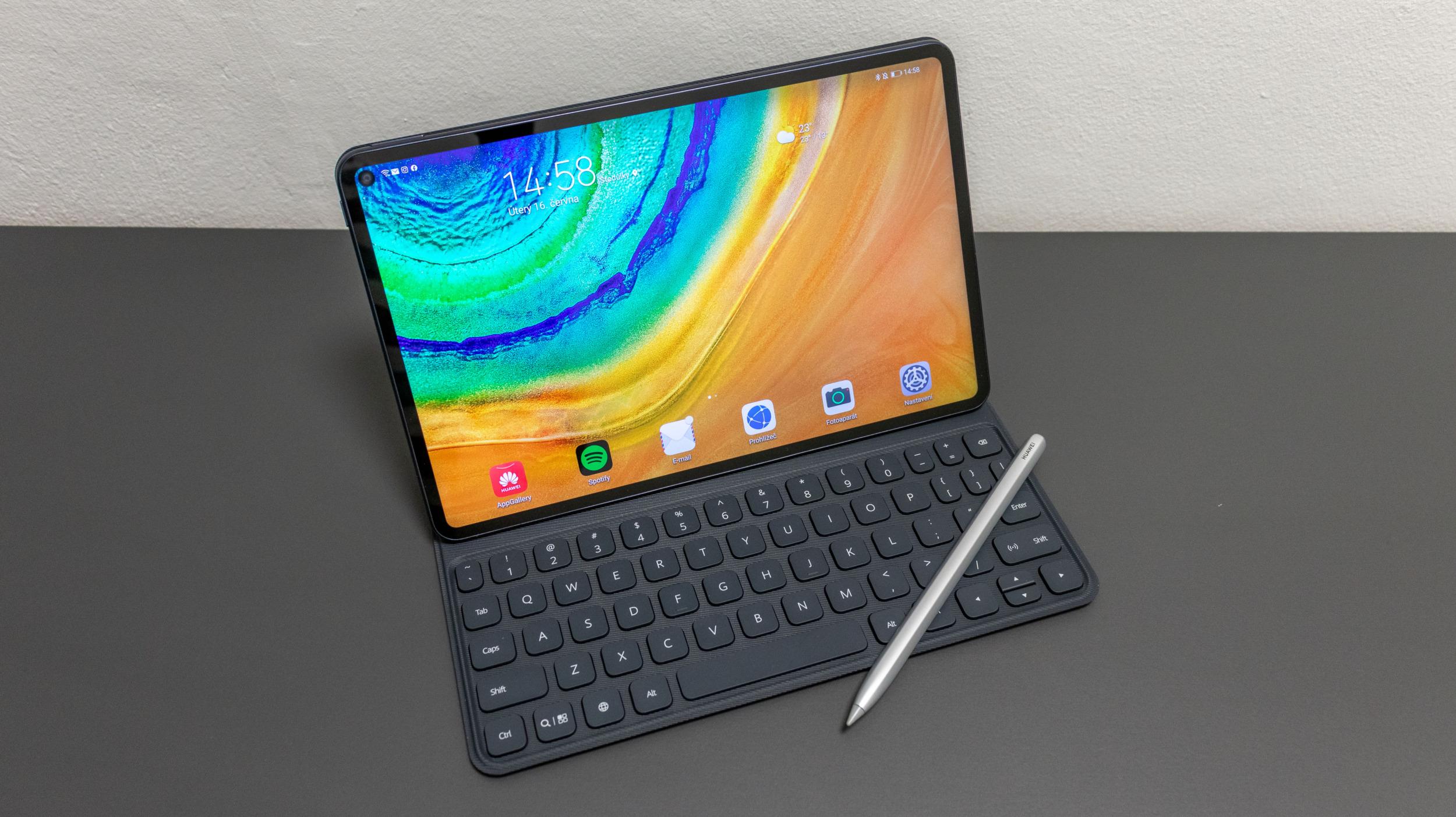 Nový 12,9palcový tablet od Huawei s 120Hz OLED displejem a novým systémem PadOS v přípravě