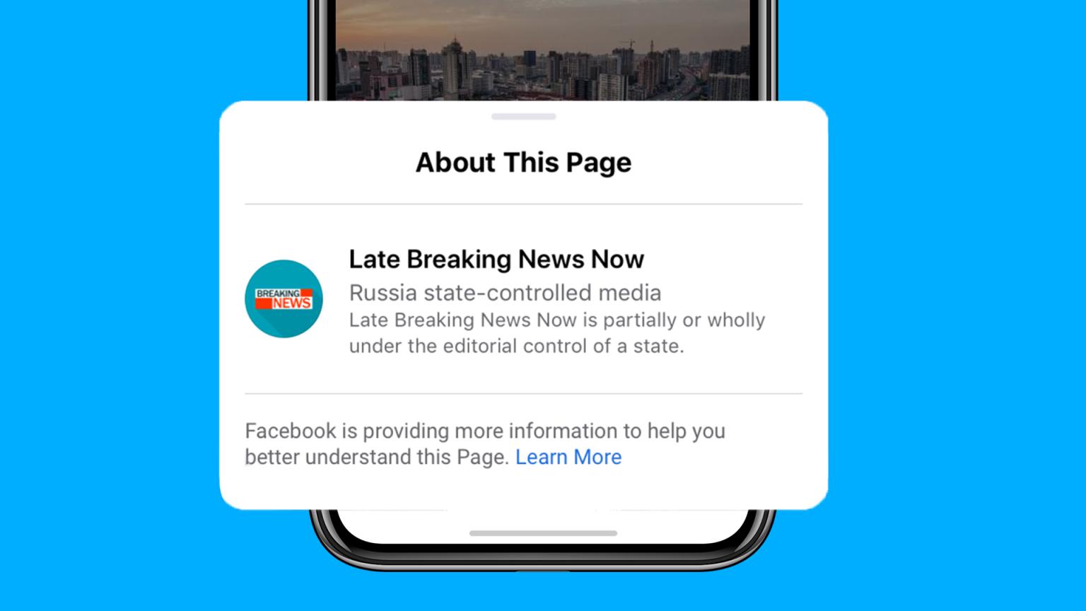 Facebook začíná označovat státem kontrolovaná média