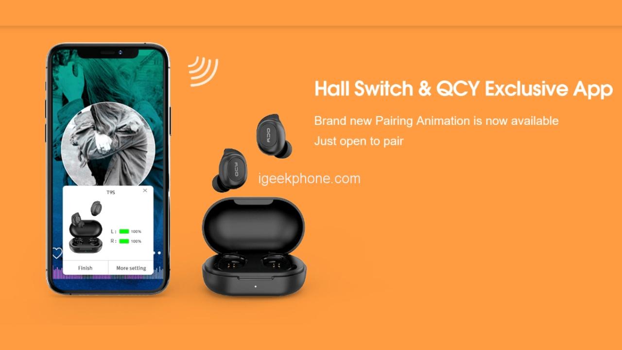 Bezdrátová sluchátka QCY T9S jen za 500 Kč! [sponzorovaný článek]