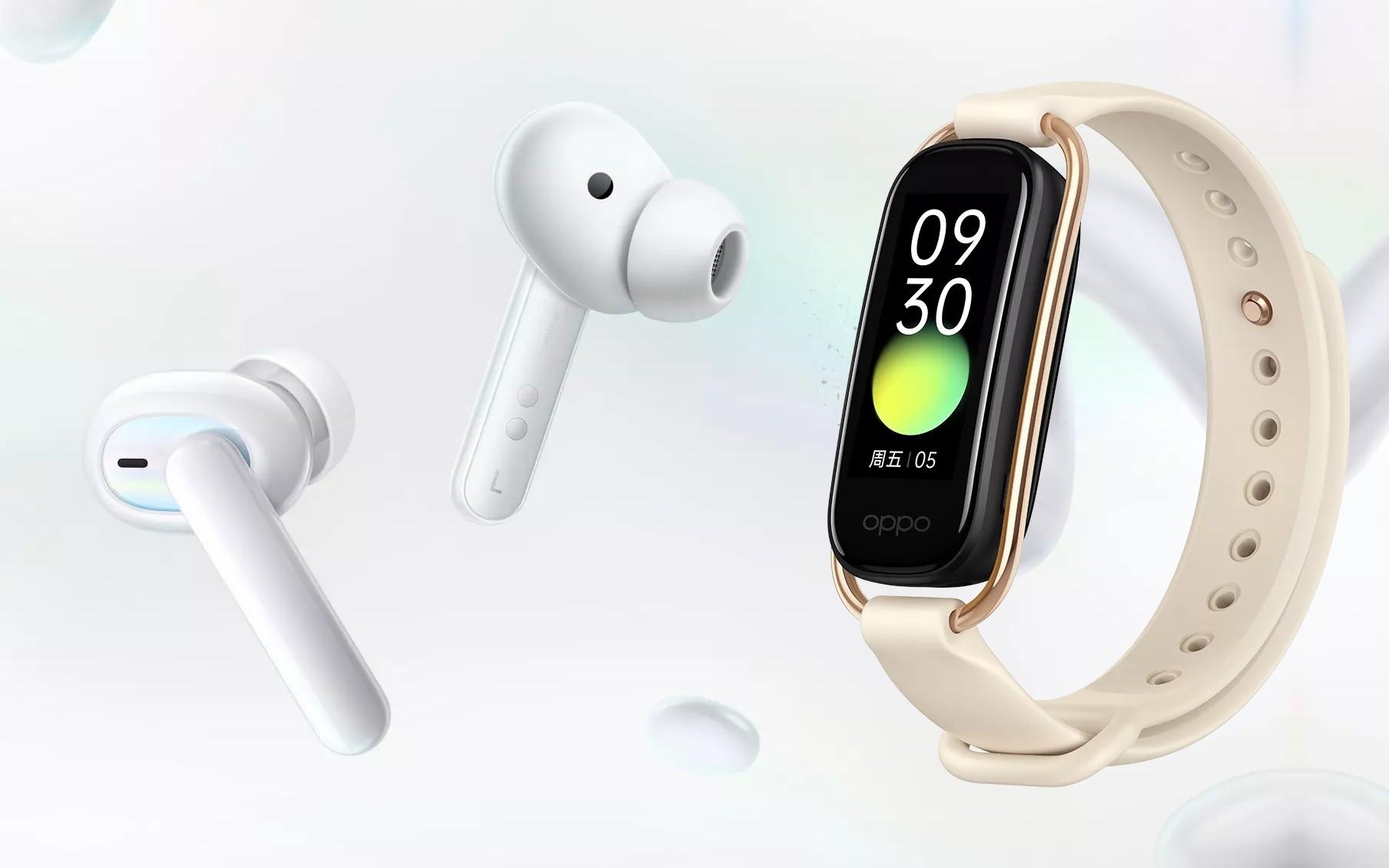Oppo uvedlo nové hodinky a sluchátka