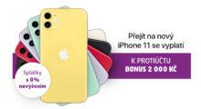 Bonus 2000 Kč na iPhone 11 a navíc splátky s 0% navýšením! [sponzorovaný článek]