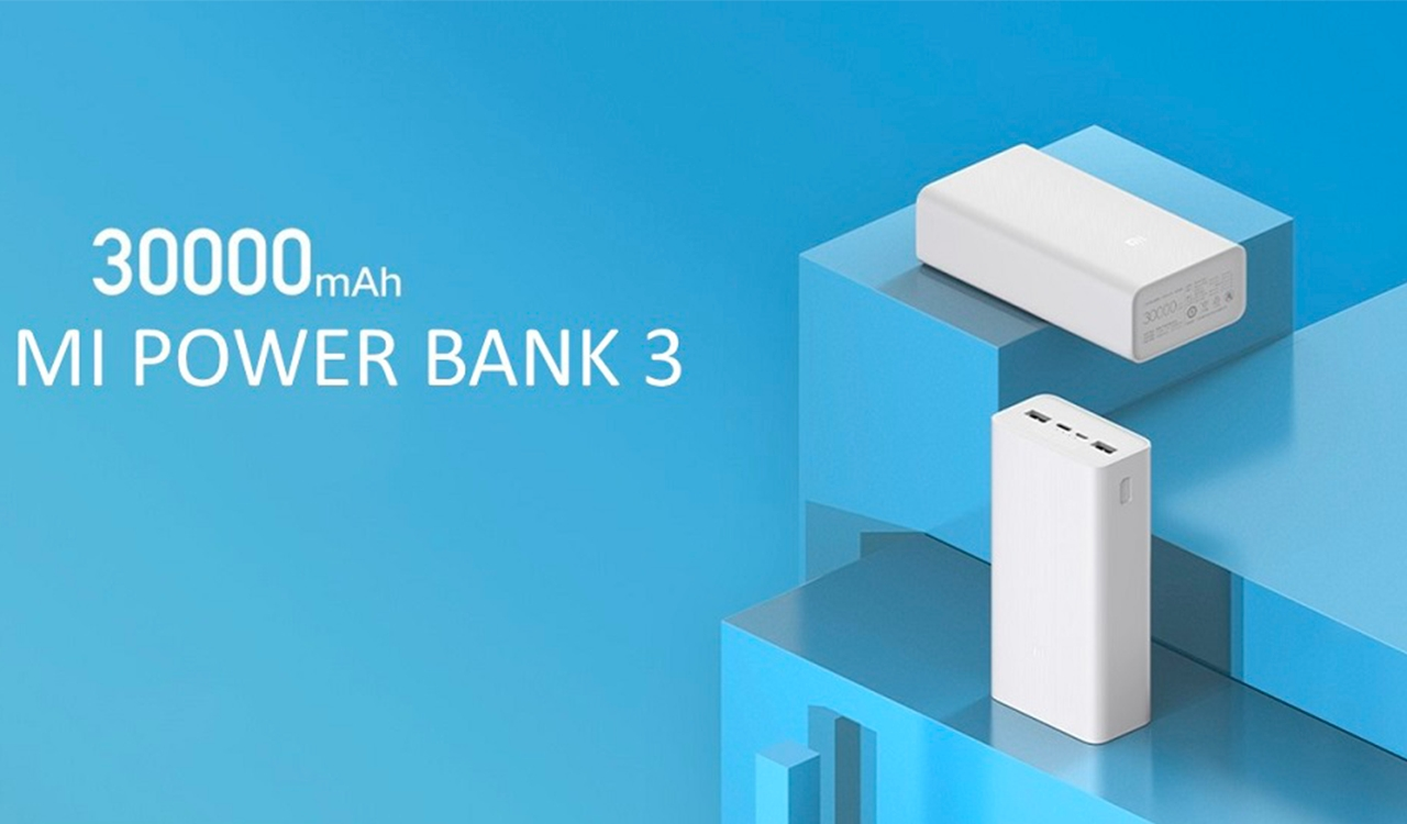Xiaomi představilo 30 000mAh power banku s USB-C