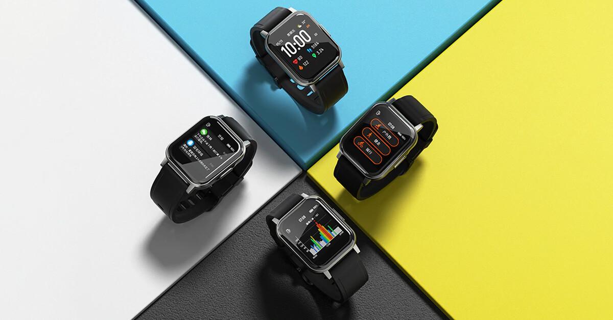 Chytré hodinky Haylou LS02 v akci na TomTop [sponzorovaný článek]