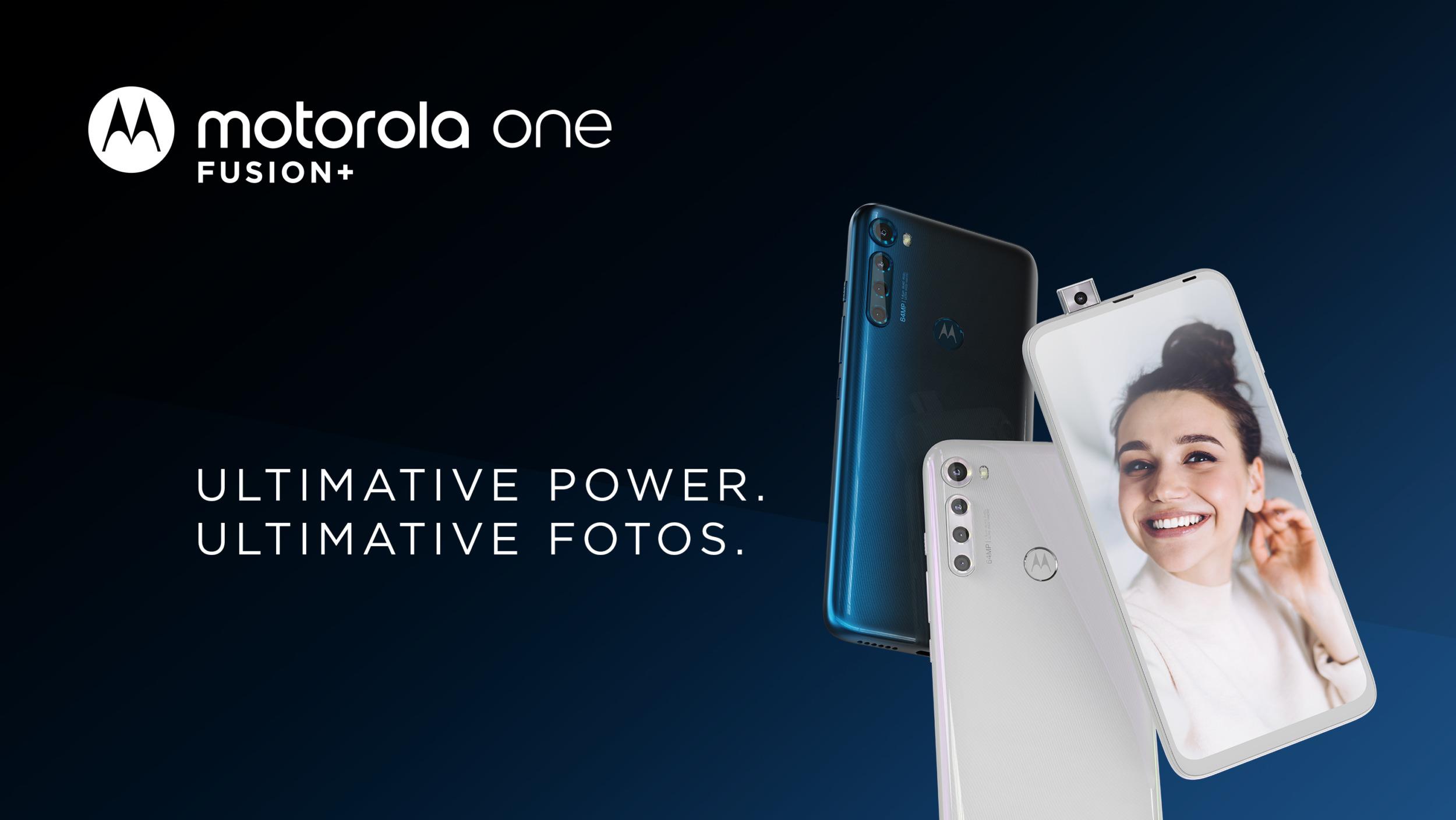 Moto One Fusion+ oficiálně, láká na displej a baterii