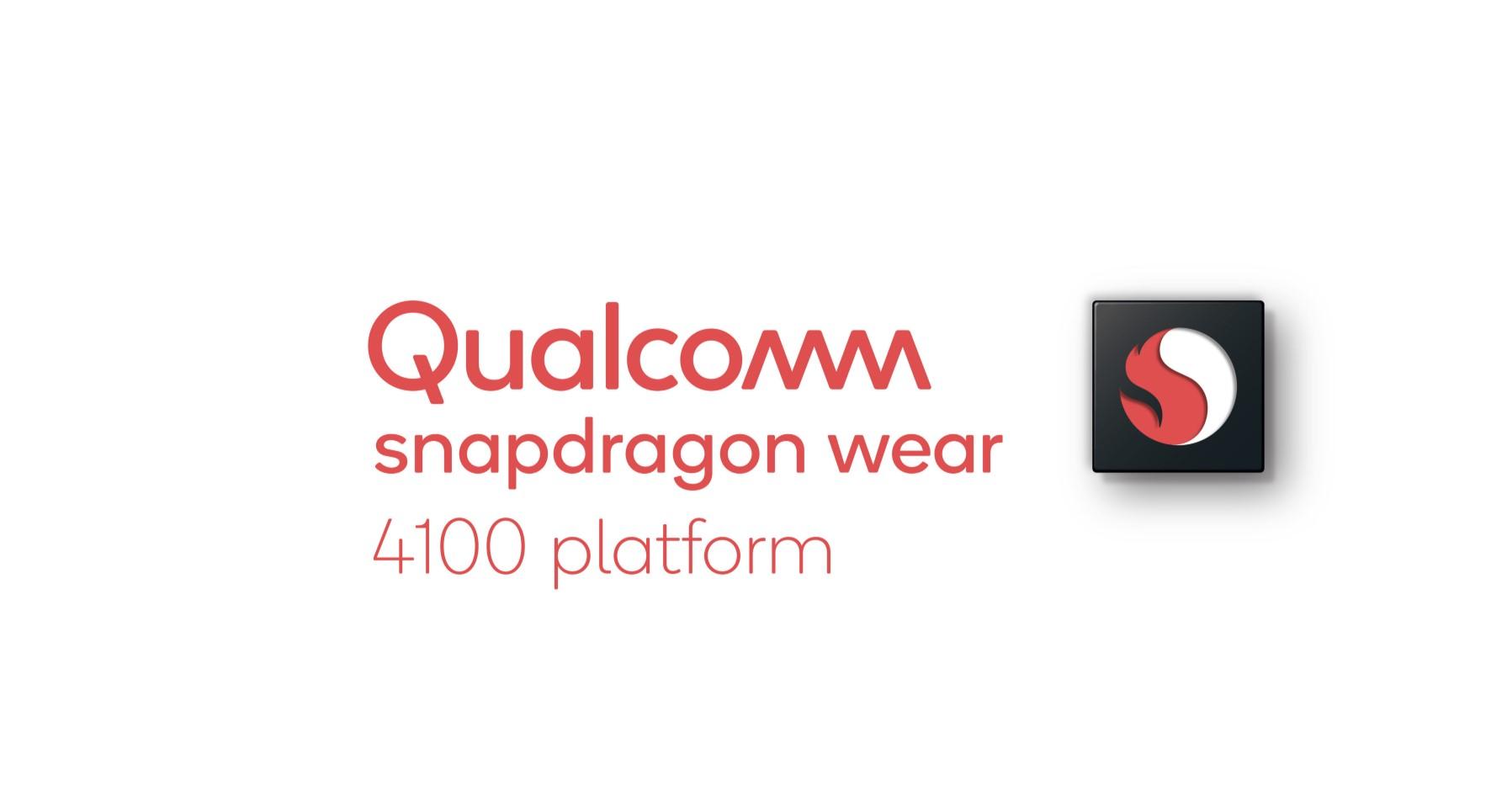 Konečně, nový procesor Snapdragon Wear 4100 pro hodinky