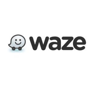 waze vector logo 512x512x