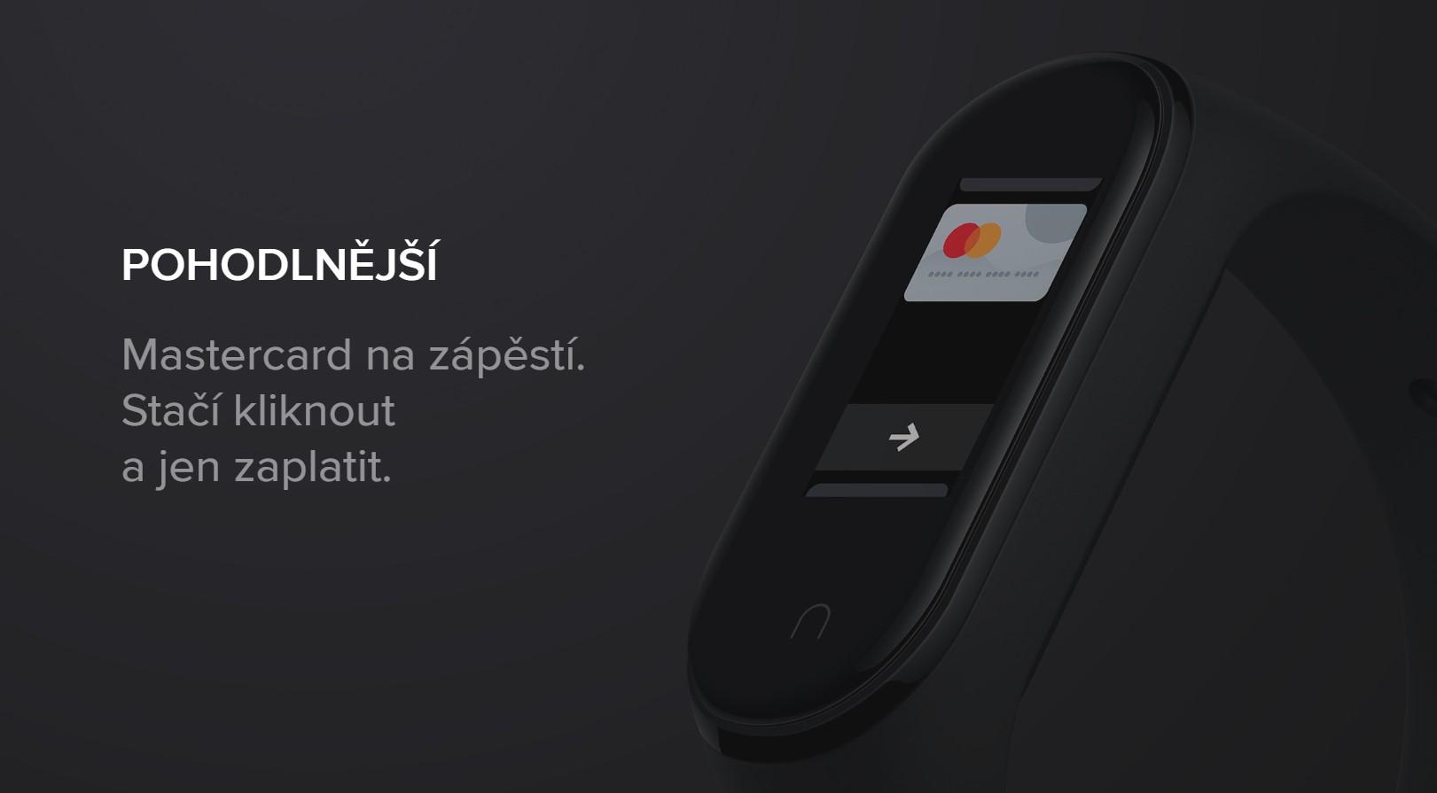 Placení s Xiaomi Mi Band 4 NFC se rozšiřuje do dalších států [aktualizováno]