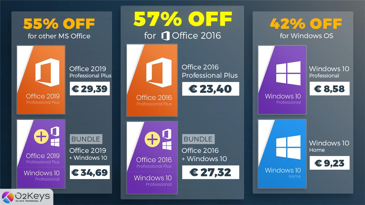 Ušetřete až 57 % na Windows 10 a Office v největší akci tohoto léta! [sponzorovaný článek]