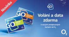 O2 nabízí dva nové předplacené tarify s cenou od 149 Kč měsíčně