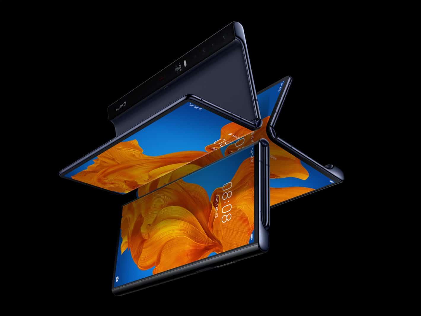 Huawei chystá skládací telefon Mate V