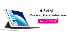 iWant nabízí slevu 1 000 Kč na nový iPad Air [sponzorovaný článek]