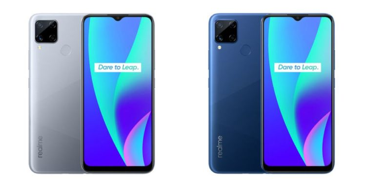 Realme C15 Seagull Grey and Marine Blue 934x472x
