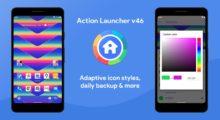 Action Launcher přináší podporu adaptivních stylů