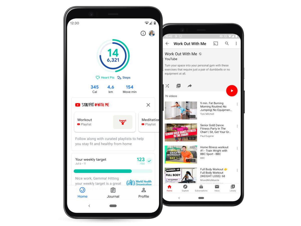 Google Fit díky třetí straně umí pracovat s více daty