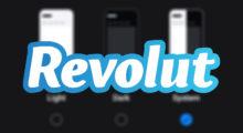 Aplikace Revolut dostává tmavý vzhled na Androidu i iOS [aktualizováno]