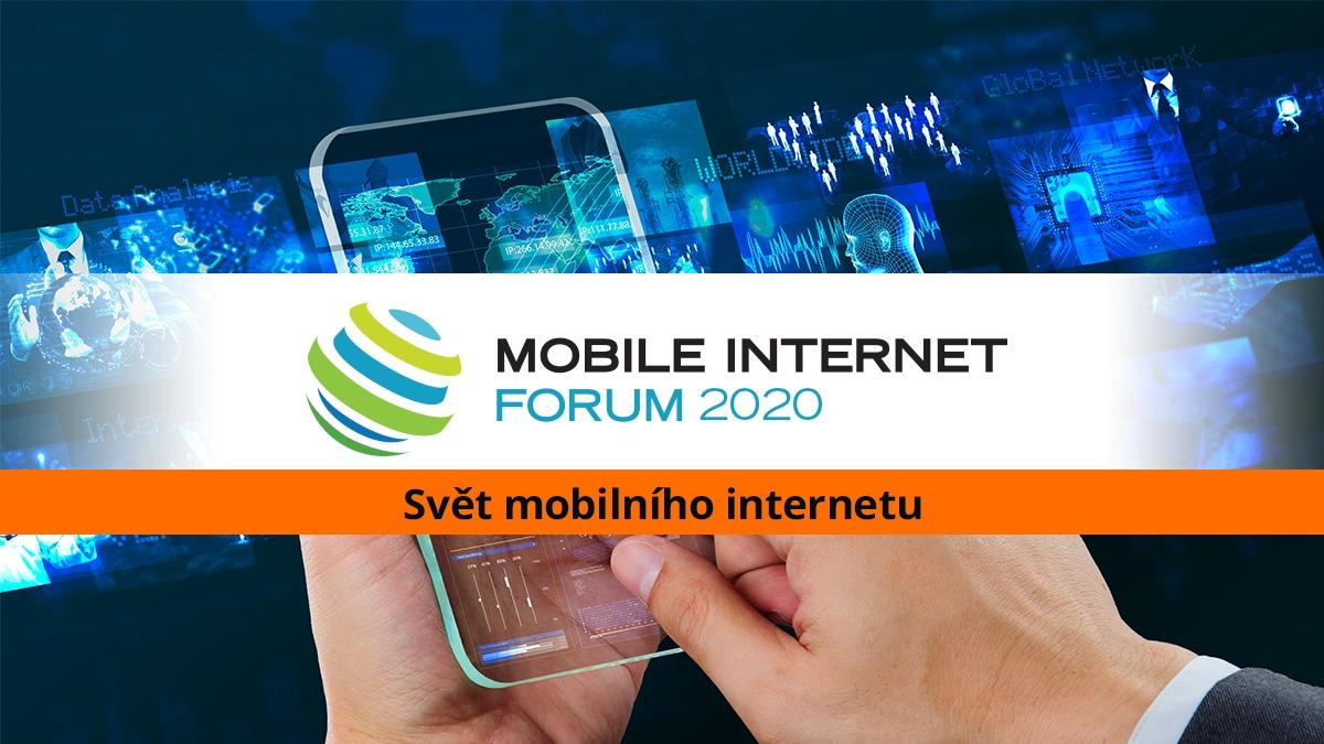 Jak využít dobu dotykovou v byznysu ukáže Mobile Internet Forum [pozvánka]
