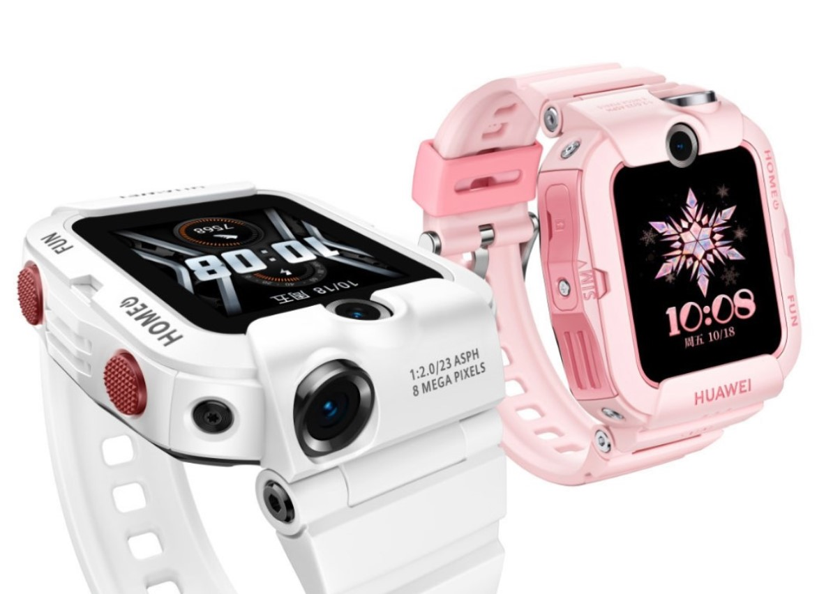 Huawei uvádí dětské hodinky Children Watch 4X
