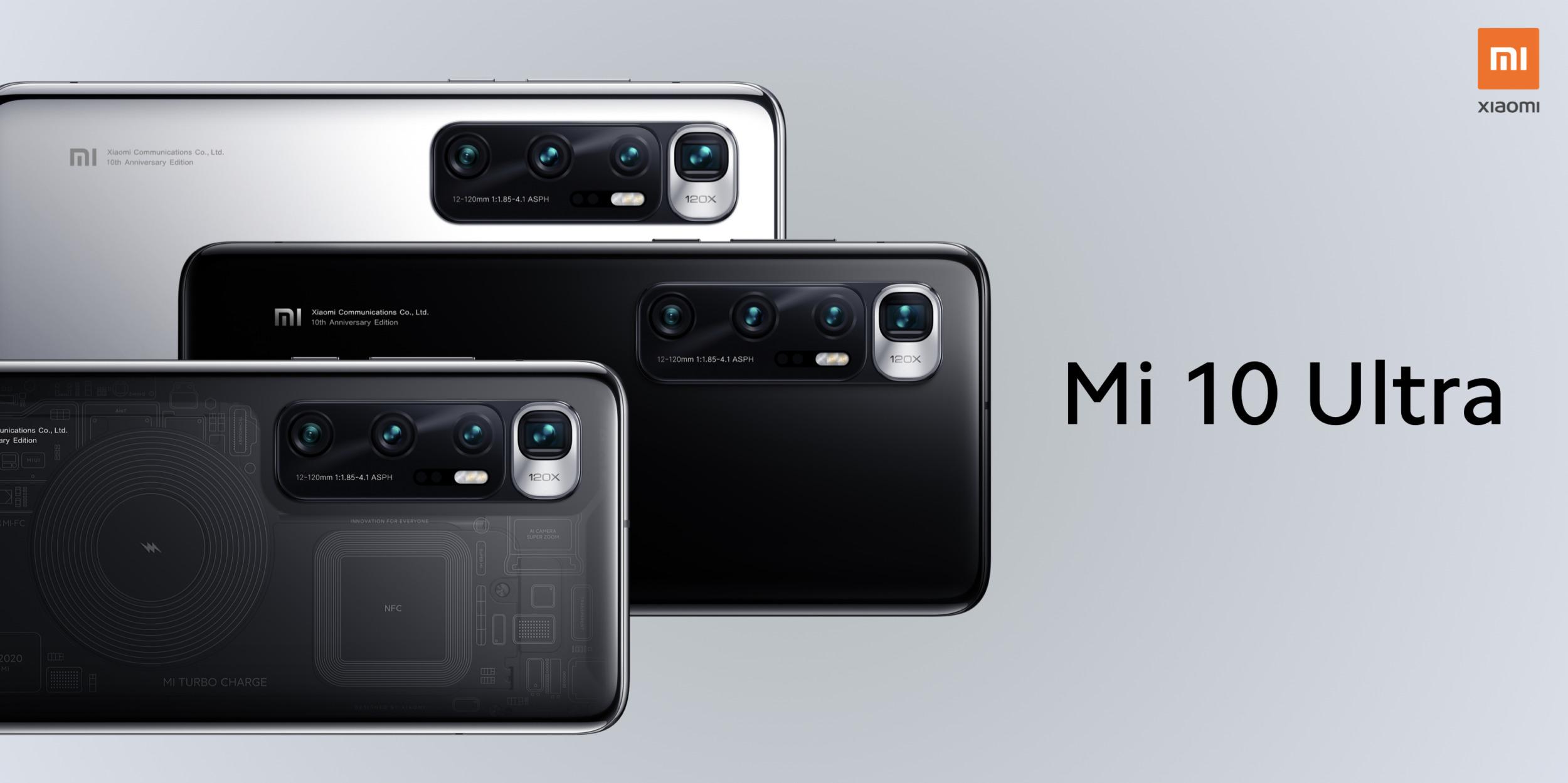 Xiaomi Mi 10 Ultra oficiálně, král fotografií a nabíjení