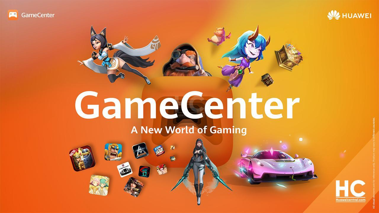 Huawei spustil herní službu GameCenter