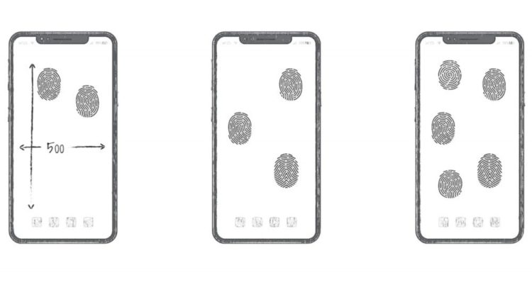 Huawei all screen fingerprint unlock patent 1000x549 1000x549x