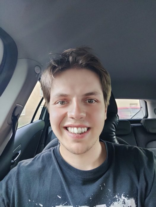 Selfie OnePlus Nord retuš