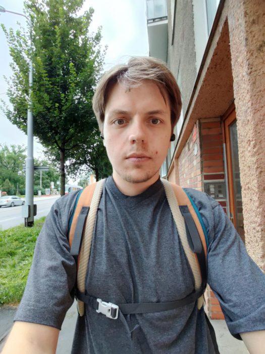 Širokoúhlá selfie kamera OnePlus Nord