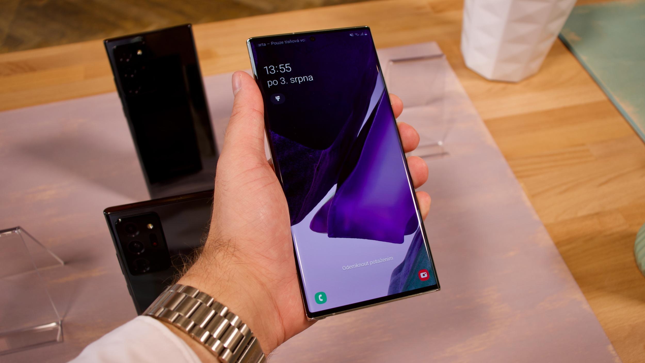 Galaxy Note 20 a Note 20 Ultra – první dojmy