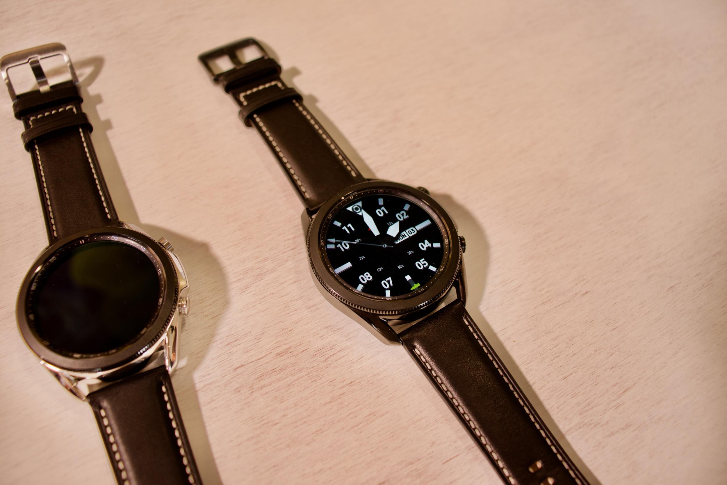 Galaxy Watch 3 získávají slíbené funkce