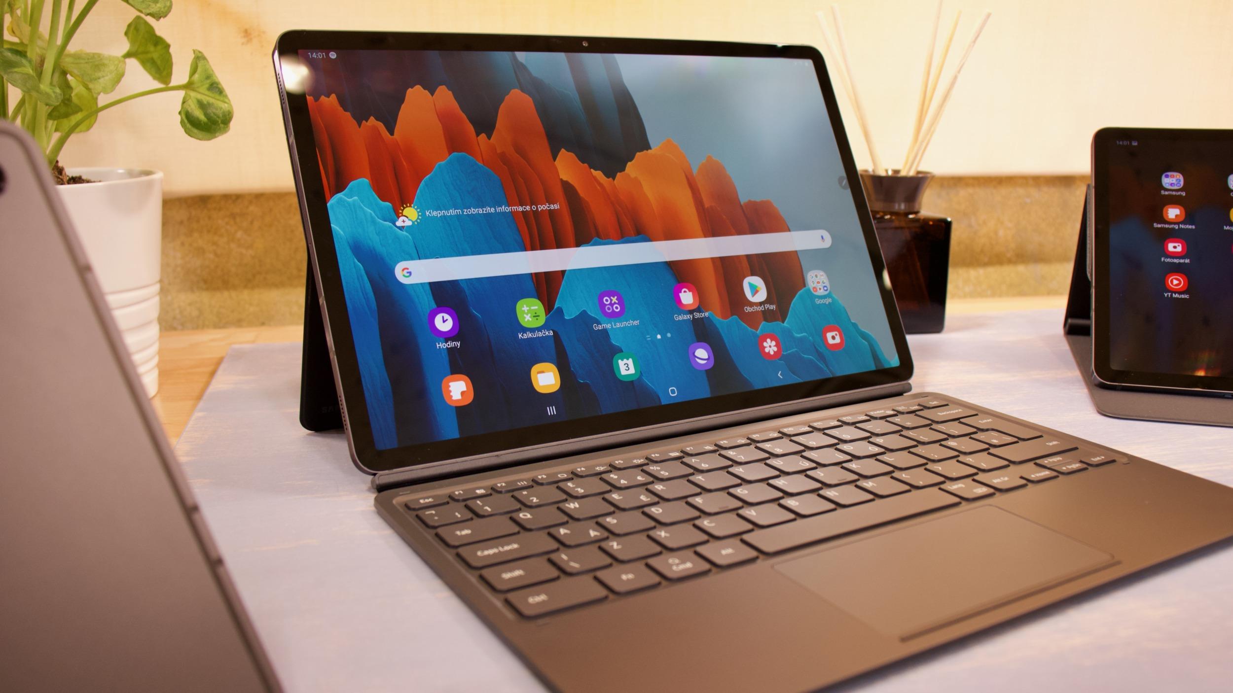 Galaxy Tab S7 Lite se ukazuje na renderech