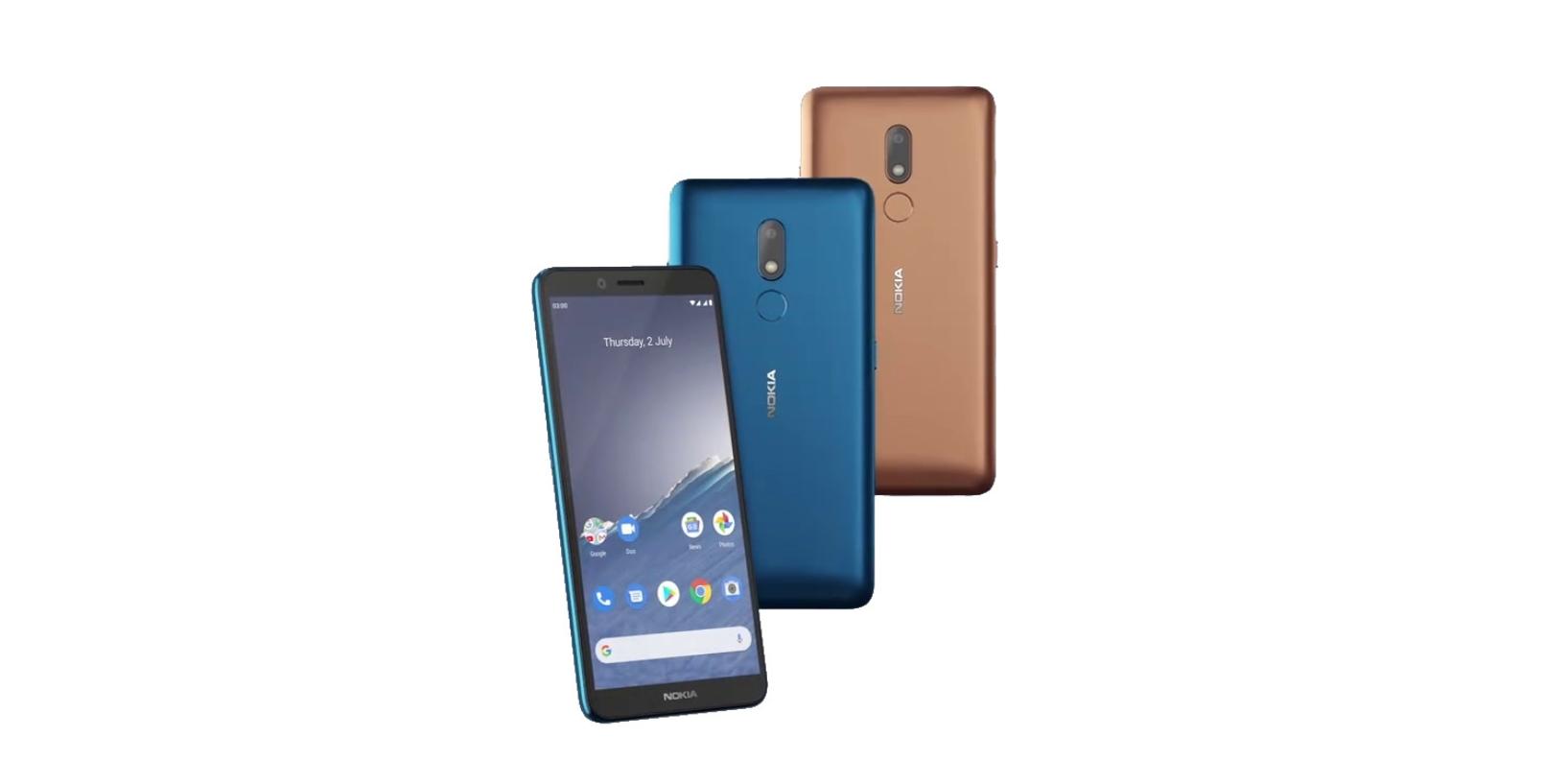 Nokia C3 představena, nabízí jen nutný základ