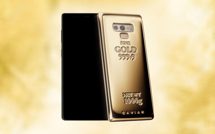 Samsung Galaxy Note 9 pořídíte i za více než milion