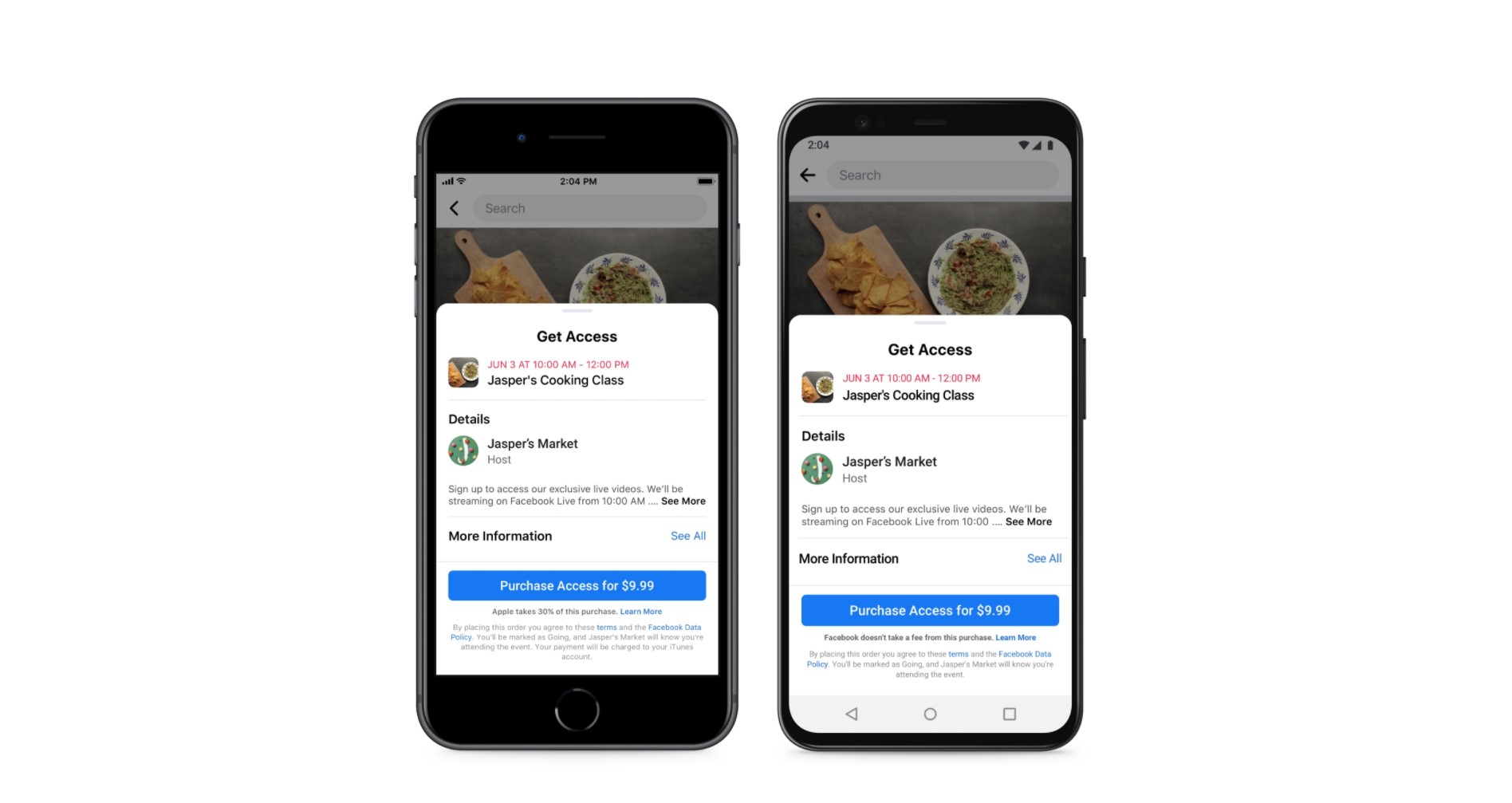 Facebook a placené události, Apple trochu ustoupil [aktualizováno]