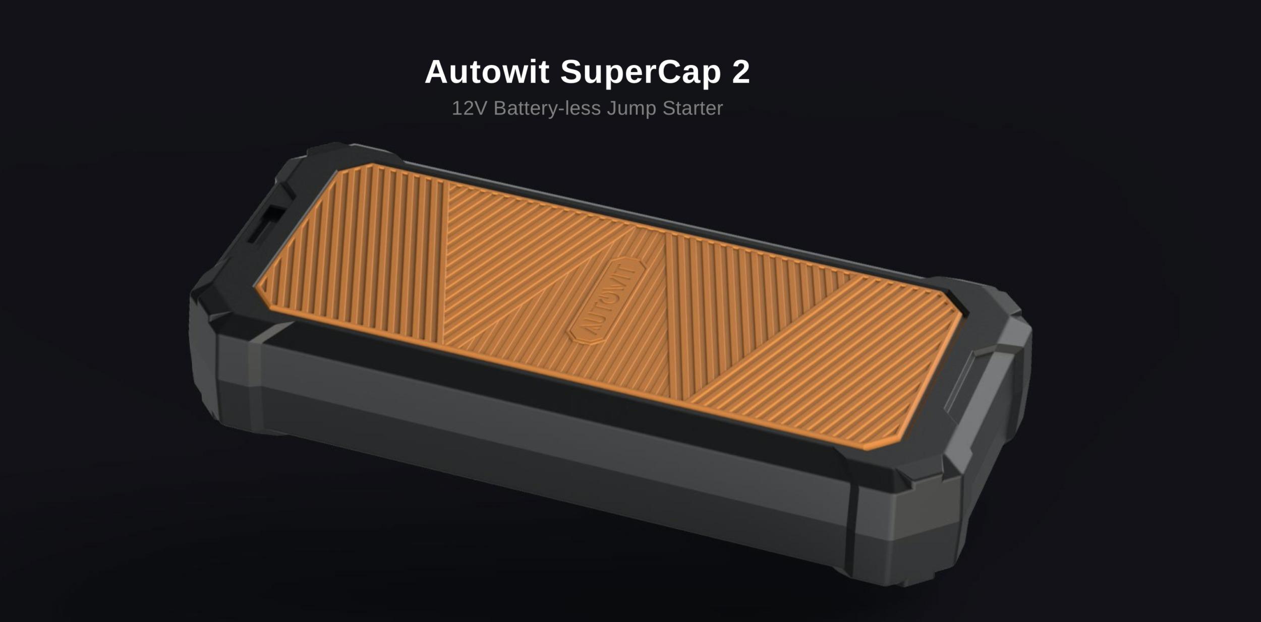 SuperCap2 nastartuje vaše vozidlo i přes vybitou baterii [sponzorovaný článek]