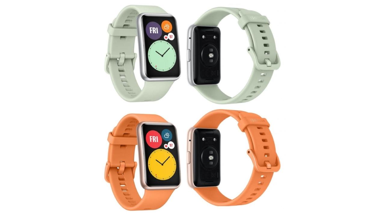 Huawei Watch Fit hodinky nabídnou netradiční obdélníkový displej