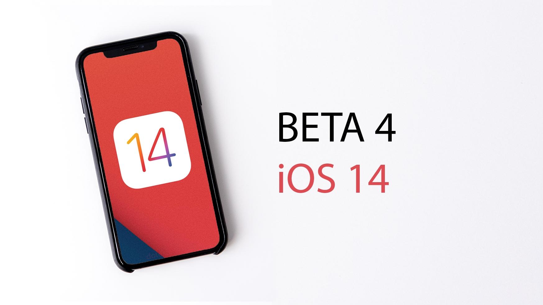 Apple vydal čtvrtou betaverzi iOS 14, přináší drobné úpravy a nový widget