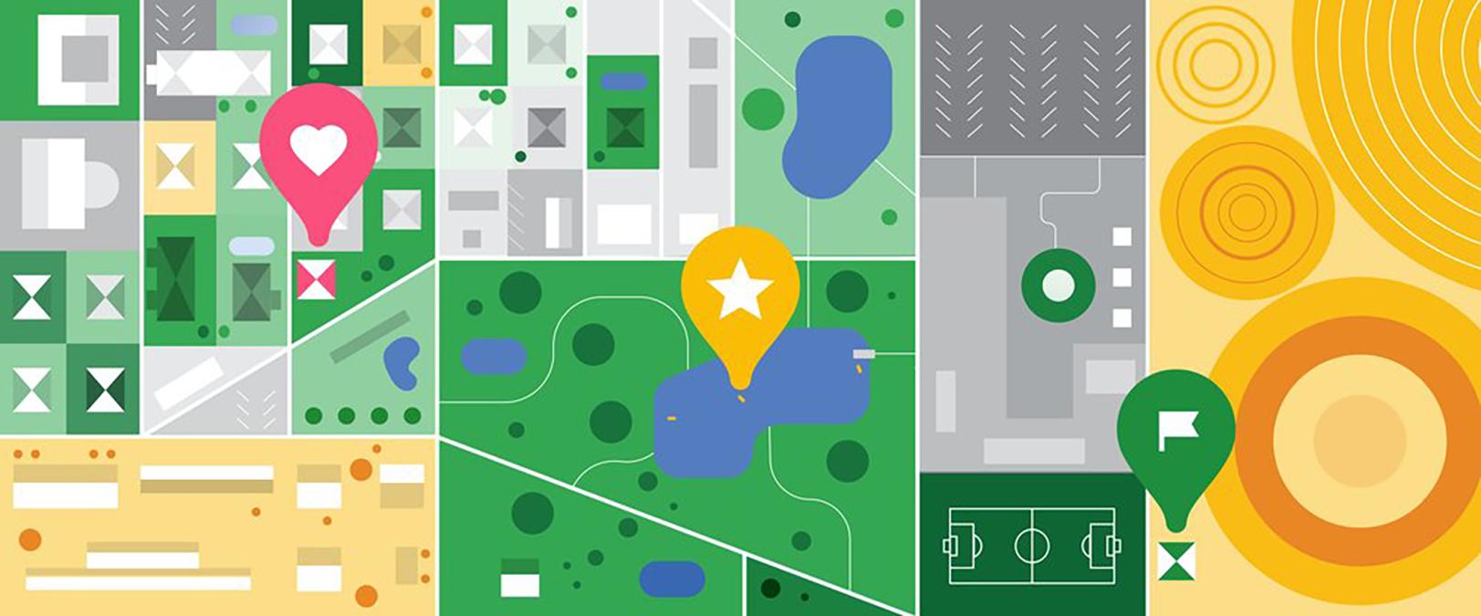 Google Mapy dostanou novou sekci Uloženo