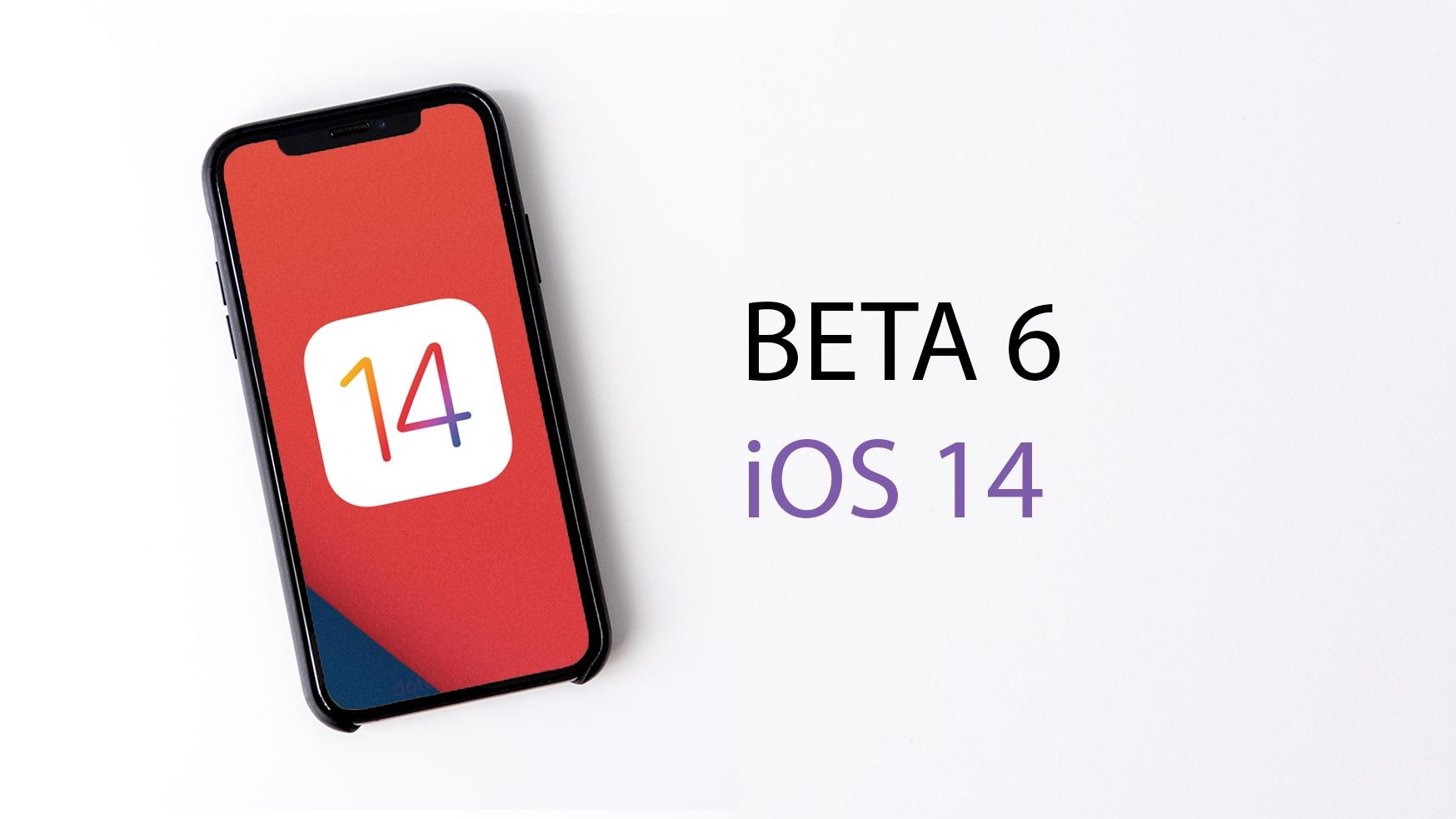 Apple vydal šestou betaverzi chystaného iOS 14