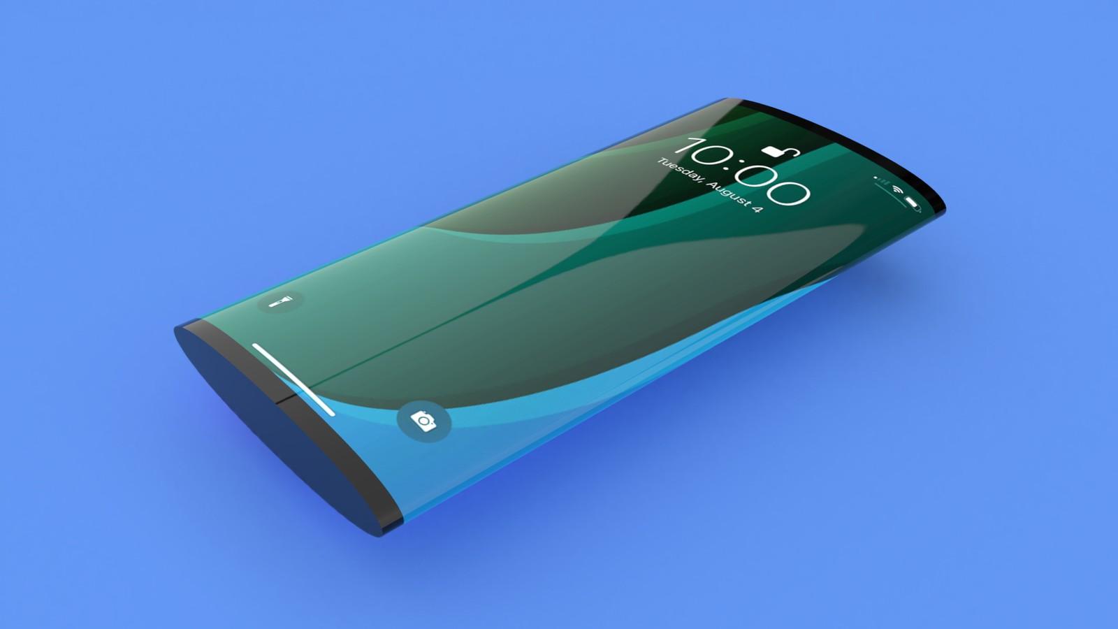 Apple pracuje na konvexním telefonu