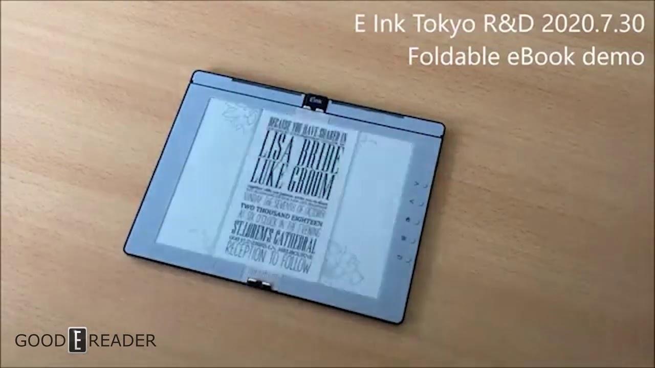 Už se pracuje i na e-ink čtečce s ohebným displejem