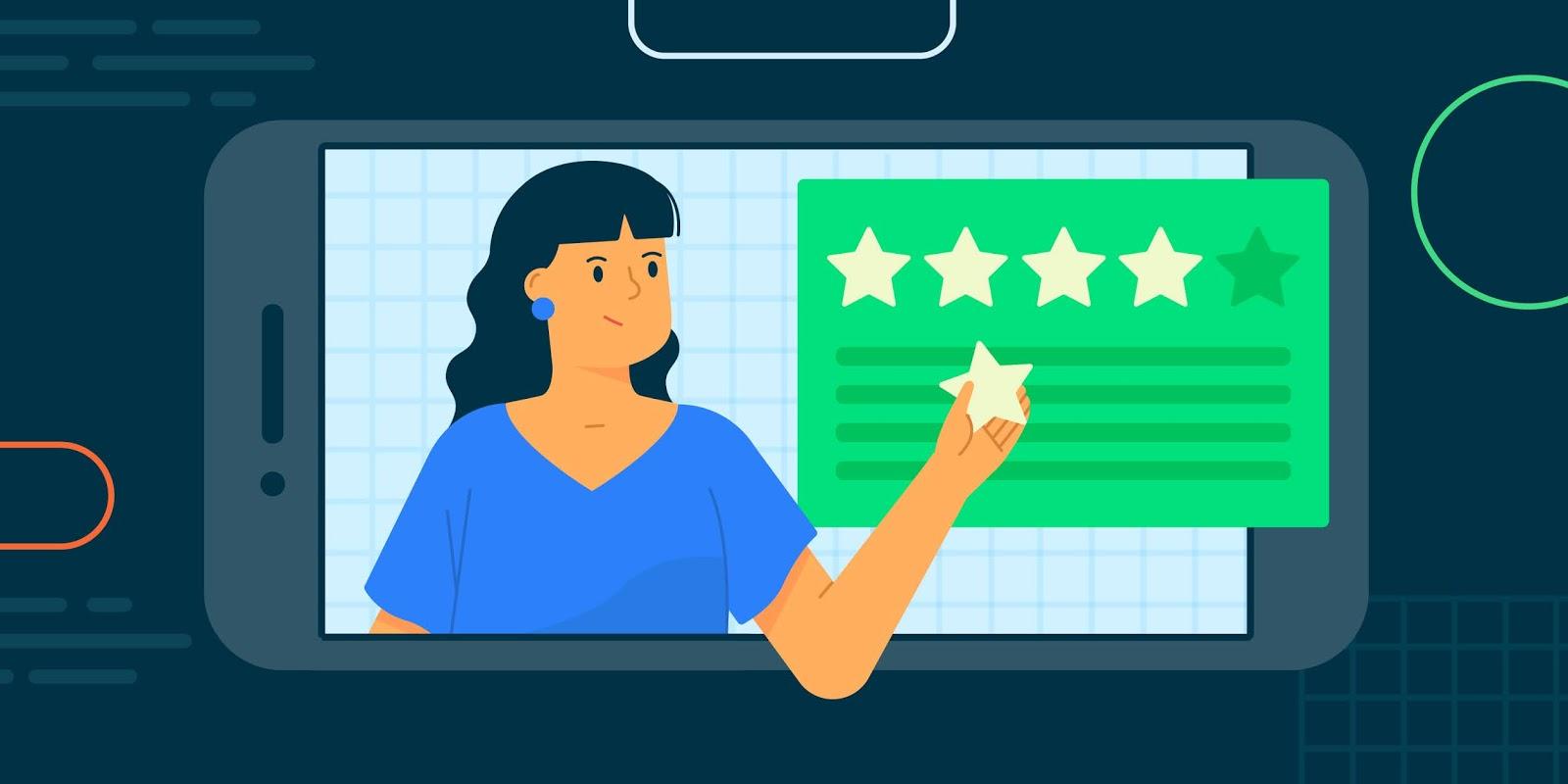 Google spouští nový způsob zadávání recenzí pro aplikace a hry