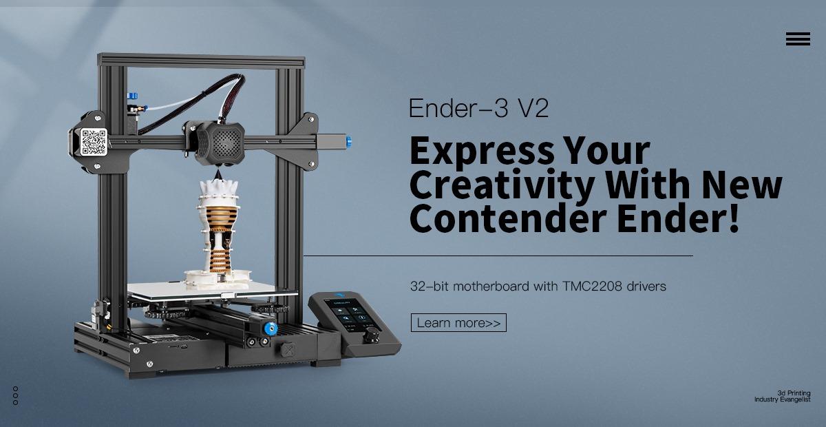 Nejlepší 3D tiskárna pod 7 000 Kč. Creality 3D Ender-3 přichází v druhé verzi [sponzorovaný článek]