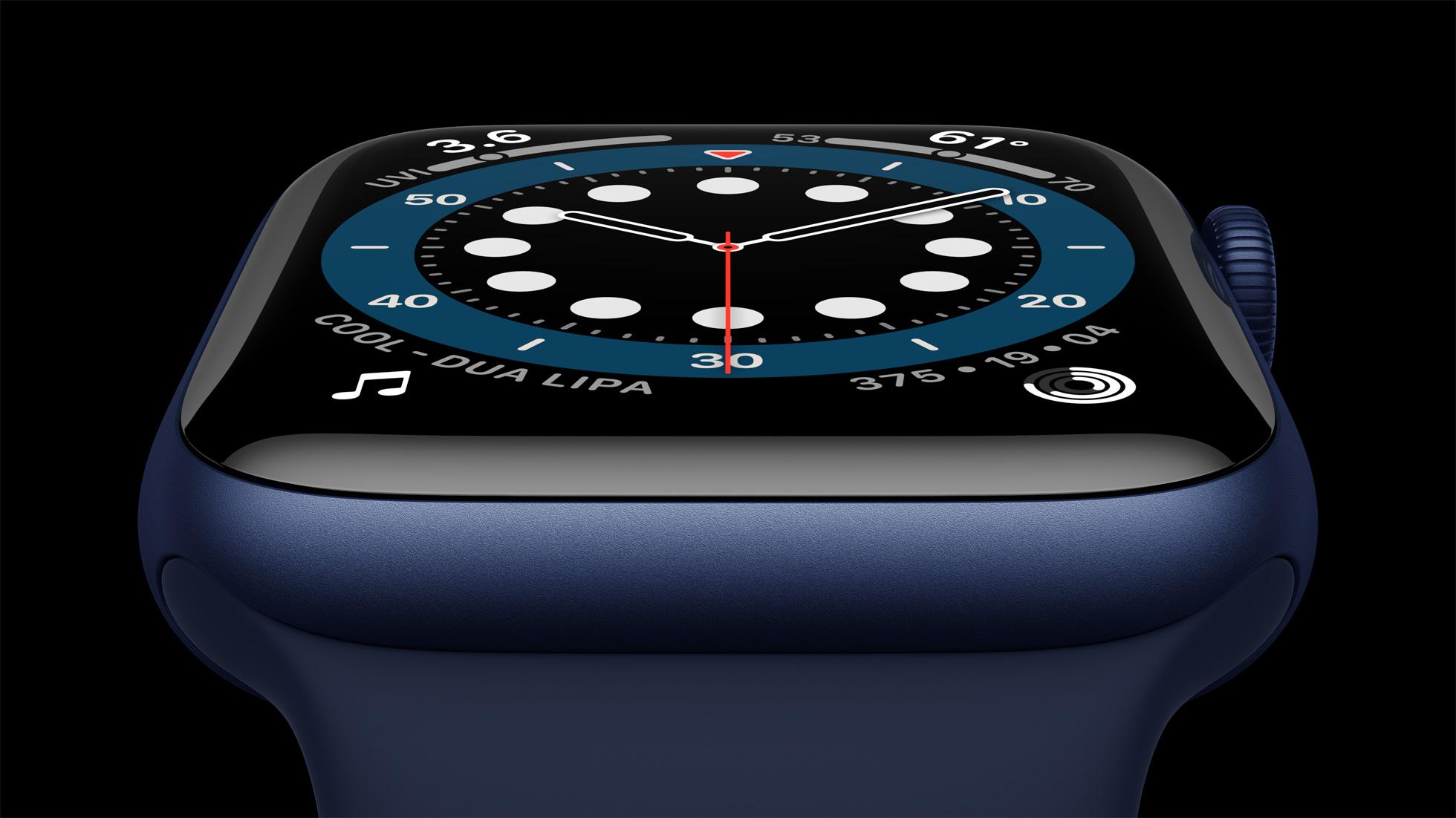 iFixit rozebral Apple Watch Series 6